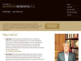 Firm Logo for Kenneth Roseman, P.A.