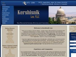 Firm Logo for Kershisnik Law, PLLC