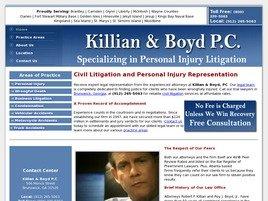 Killian & Boyd P.C. Law Firm Logo