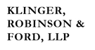 Firm Logo for Klinger, Robinson & Ford, LLP