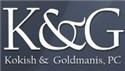Kokish & Goldmanis, P.C. Law Firm Logo