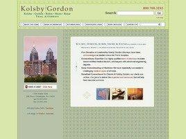 Firm Logo for Kolsby Gordon Robin Shore Bezar A Professional Corporation