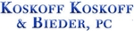 Koskoff, Koskoff & Bieder, P.C. Law Firm Logo