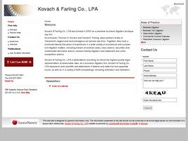 Firm Logo for Kovach & Farling Co., LPA