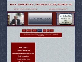 Firm Logo for Koy E. Dawkins, P.A.