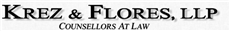 KREZ & FLORES, LLP Law Firm Logo
