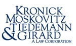 Kronick Moskovitz Tiedemann & Girard <br />A Law Corporation Law Firm Logo