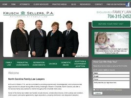 Krusch & Sellers, P.A., Your Family Attorneys Law Firm Logo