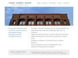 Firm Logo for LaDue Curran & Kuehn LLC