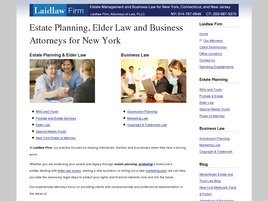 Firm Logo for Laidlaw Firm, Attorneys at Law, PLLC