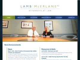 Firm Logo for Lamb McErlane PC