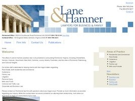 Firm Logo for Lane Hamner P.C.