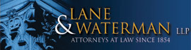Firm Logo for Lane & Waterman LLP