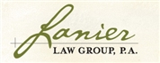 Lanier Law Group, P.A. Law Firm Logo