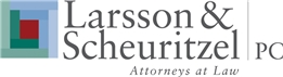 Larsson & Scheuritzel <br />A Professional Corporation Law Firm Logo