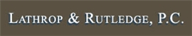 Firm Logo for Lathrop Rutledge P.C.