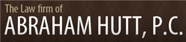 Law Firm of Abraham Hutt, P.C. Law Firm Logo