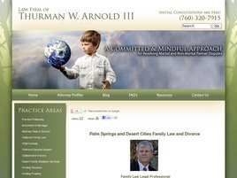 Law Firm of <br />Thurman W. Arnold III Law Firm Logo