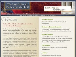 The Law Office of <br />Darla J. Snead, PLLC Law Firm Logo