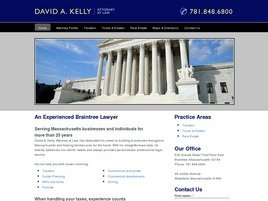 Law Office of David A. Kelly Law Firm Logo