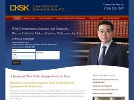 Firm Logo for Law Office of <br />David K.S. Kim P.C.