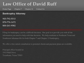 Firm Logo for Law Office of David Ruff