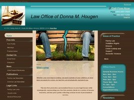 Firm Logo for Law Office of Donna M. Hougen