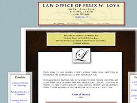 Firm Logo for Law Office of Felix W. Loya