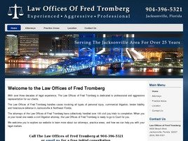 Law Offices of Fred Tromberg Law Firm Logo