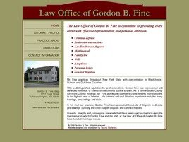 Firm Logo for Law Office of Gordon B. Fine