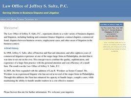 Firm Logo for Law Office of Jeffrey S. Saltz P.C.