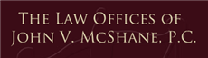 Firm Logo for Law Office of John V. McShane P.C. dba McShane Davis LLP