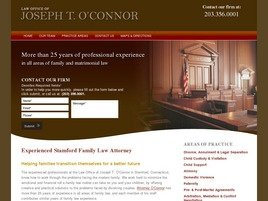 Law Office of Joseph T. O'Connor Law Firm Logo