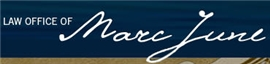 Law Office of Marc W. June Law Firm Logo
