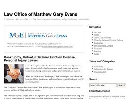 Law Office of Matthew Gary Evans