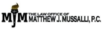 Firm Logo for Law Office of Matthew J. Mussalli P.C.