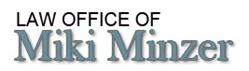 Firm Logo for Law Office of Miki Minzer <br />Attorney at Law