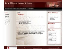 Firm Logo for Law Office of Norma A. Koch