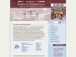Firm Logo for Law Office of <br />Patricia E. Tichenor, P.L.L.C.
