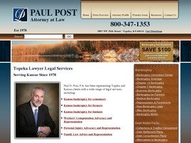 Firm Logo for Law Office of Paul D. Post, P.A.