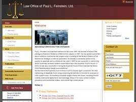 Firm Logo for Law Office of Paul L. Feinstein Ltd.