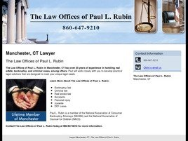Law Office of Paul Rubin Law Firm Logo