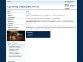 Firm Logo for Law Office of Richard H. Wilson