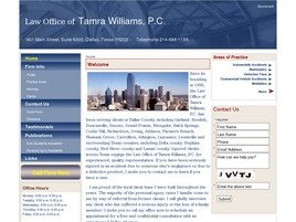 Firm Logo for Law Office of Tamra Williams P.C.
