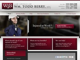 Firm Logo for Law Office of Wm. Todd Berry A Professional Corporation