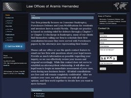 Firm Logo for Law Offices of Aramis Hernandez