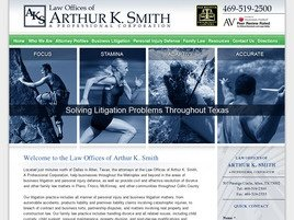 Firm Logo for Law Offices of Arthur K. Smith <br />A Professional Corporation