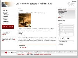 Firm Logo for Law Offices of Barbara J. Pittman P.A.