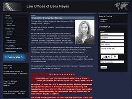 Firm Logo for Law Offices of Bella Reyes