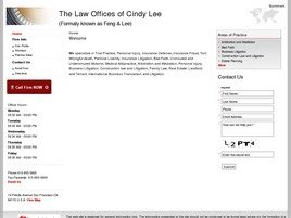 Firm Logo for Law Offices of Cindy Lee
